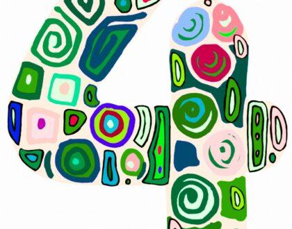 getal-4-kunstwerk